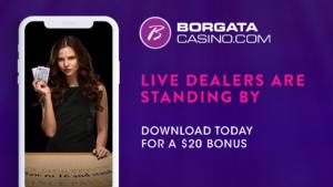 Play Blackjack this Memorial Day Weekend on the BorgataCasino.com app.
