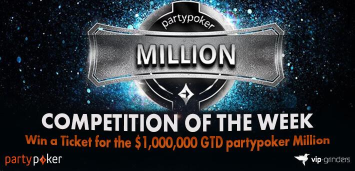 Kompetisi Minggu Ini - Menangkan Tiket Juta partypoker GTD $ 1.000.000