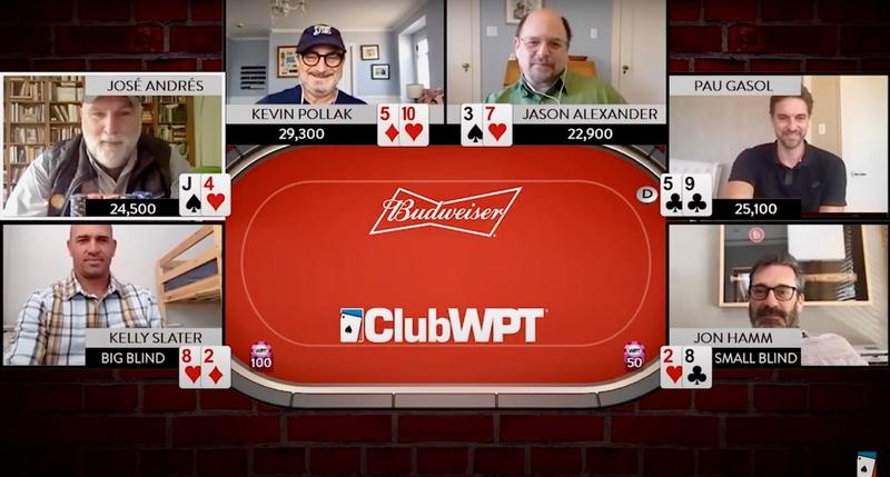 World Poker Tour Mengumumkan Tantangan Poker Selebriti Sang Raja