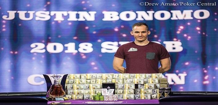 Justin Bonomo memenangkan Super High Roller Bowl Online seharga $ 1.775.000
