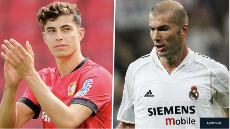 Liverpool on the 'poker table' for Kai Havertz, who is 'displaying signs of Zidane'