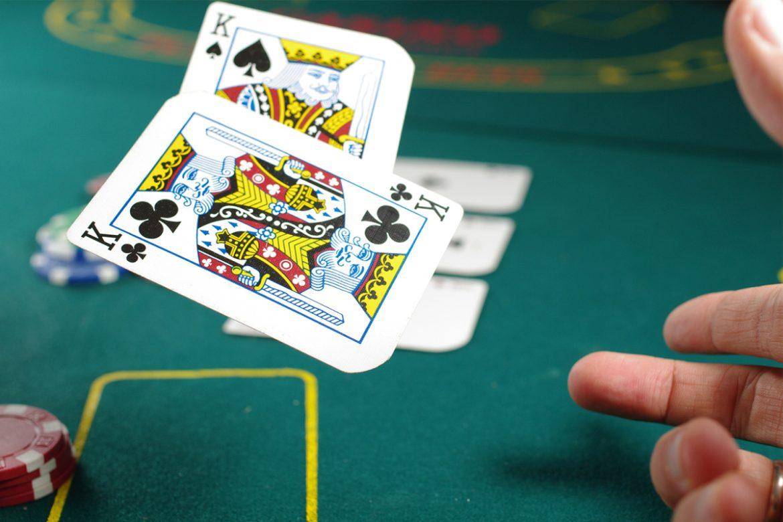 Two Kings poker hand