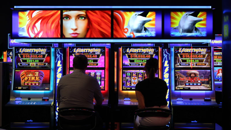 Mesin poker digunakan untuk mencuci uang tunai dan menghindari pajak