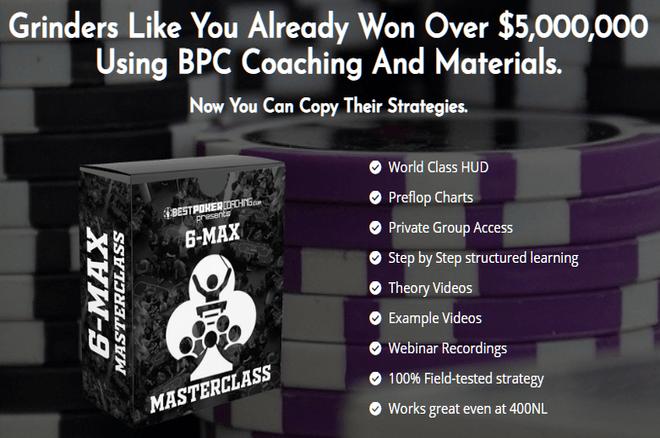 Tingkatkan Tanpa Batas Anda 6-Max Bermain Singkat dengan Masterclass ini dari Pelatihan Poker Terbaik