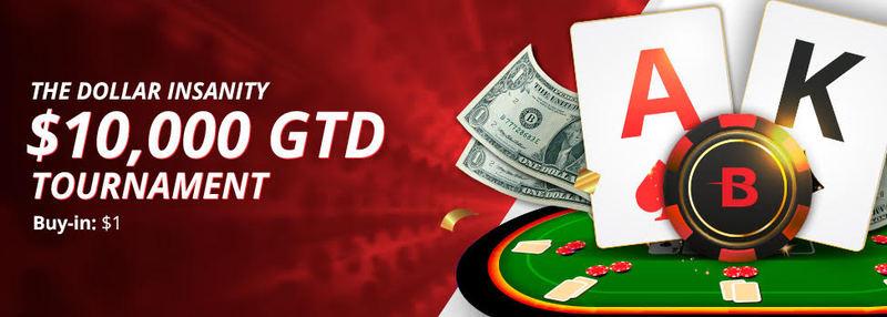 BetOnline Hosting $ 10.000 Dijamin Turnamen Poker Online Kegilaan Dolar