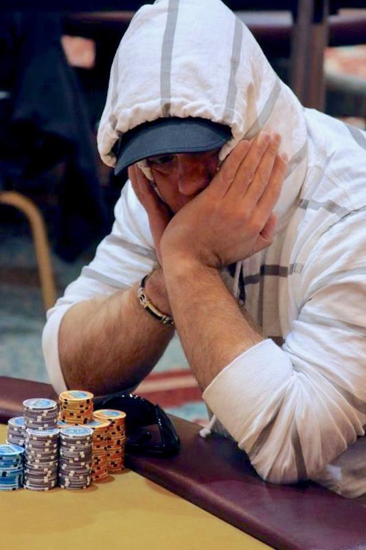 Louis Lynch di meja final acara utama Foxwoods Poker Classic 2010, kredit: Foxwoods Poker Blog