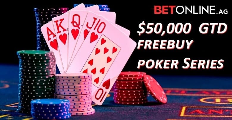BetOnline Poker Rolls Out Freebuy Tournaments For Players
