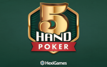 HexiGames has released the new mobile game 5-Hand Poker.