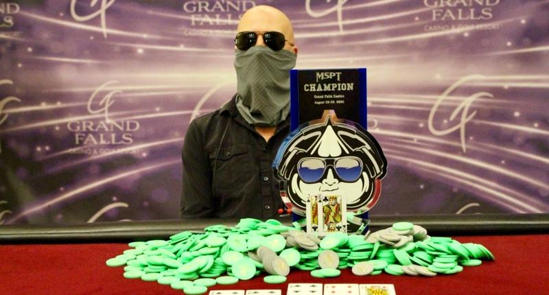 Mark Collins Memenangkan Acara Utama Tur Poker Grand Falls Amerika Serikat