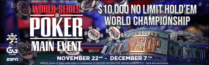 Acara Utama WSOP GGPoker