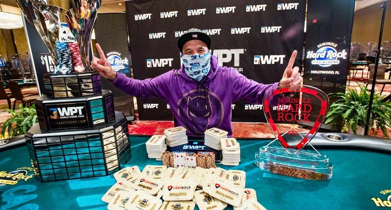 Ilyas Muradi Menang Acara Utama World Poker Tour Lucky Hearts Poker 2021 Open