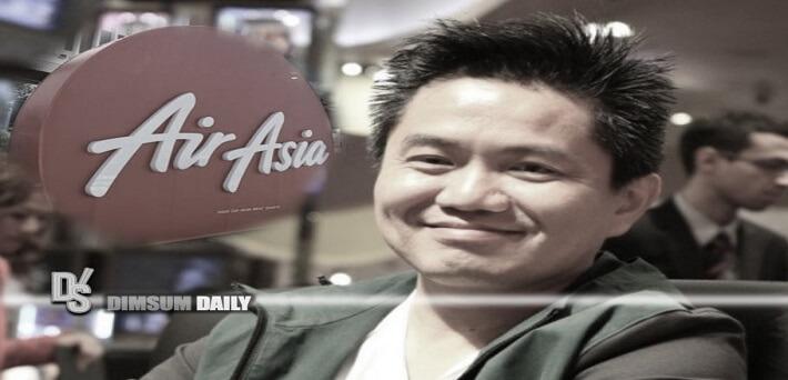 Saham AirAsia Melonjak 16,56% Setelah Stanley Choi muncul sebagai Pemegang Saham