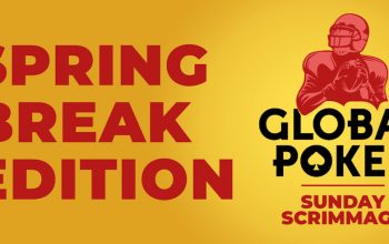 The Spring Break Edition of Global Poker's Sunday Scrimmage on March 7 features a boosted 75,000 Sweeps Coin (SC) guaranteed prize pool.