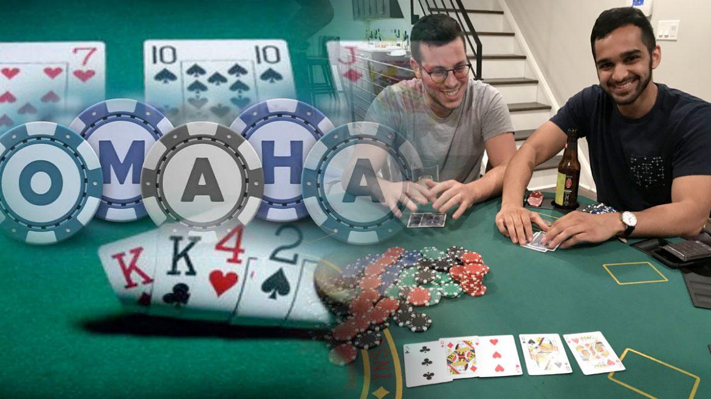 Omaha Poker Home Card Permainan Gambar Campuran