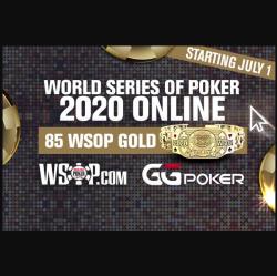 GGPoker Memberikan Nomor Online Final WSOP 2020