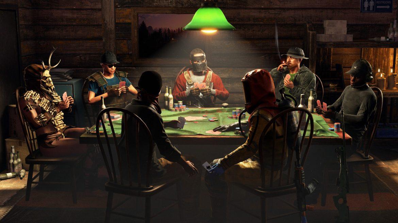 Pembaruan April Rust menambahkan gerakan, meja poker, dan tetes Twitch
