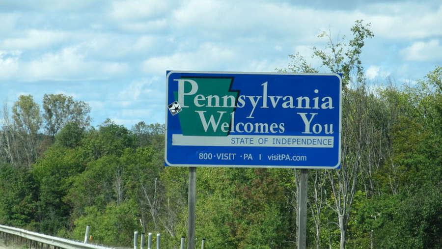 a-sign-at-pennsylvania-state-border