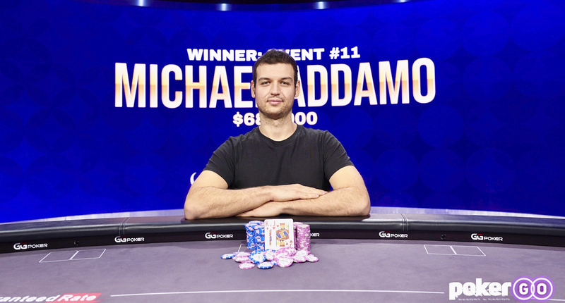 Michael Addamo Steamrolls To Poker Masters $50,000 High Roller Title